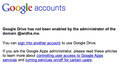 Google Service has not been enabled after downgrading to Free account